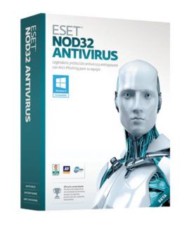 Eset NOD32 ANTIVIRUS VERSION 9 (10 PC / 1 YEAR )