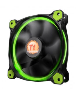 LED Radiator Fan - Green